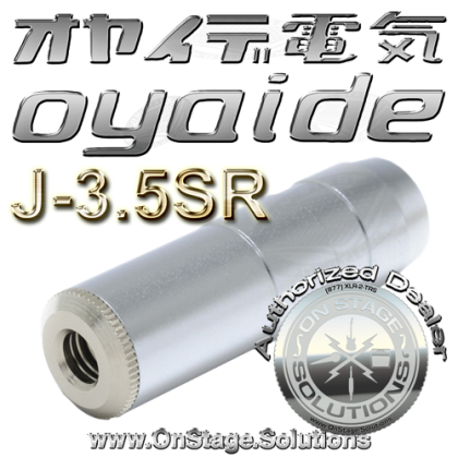 "Oyaide NEO J-3.5SR ⅛"" Mini (3.5mm) Stereo Female Adaptor Plug"